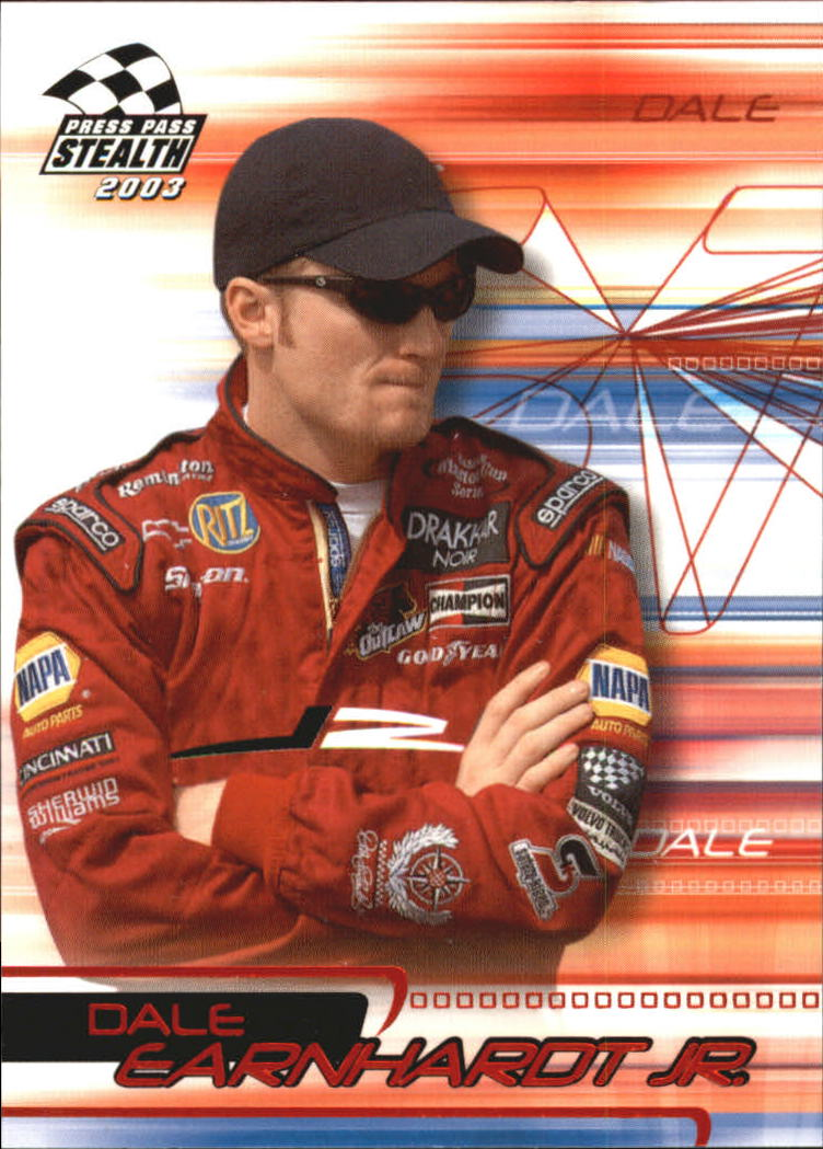 2003 Press Pass Stealth Red #P10 Dale Earnhardt Jr.