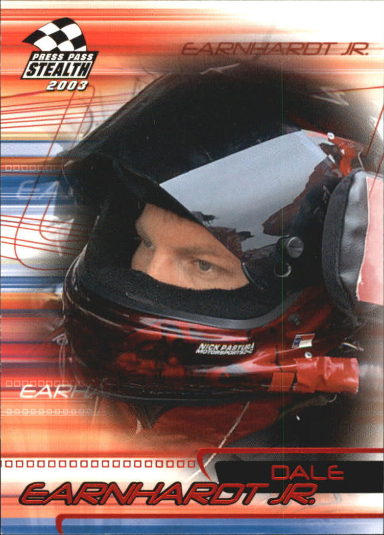 2003 Press Pass Stealth Red #P12 Dale Earnhardt Jr.