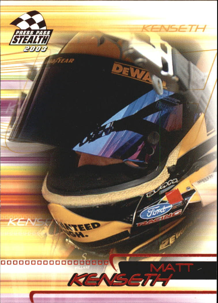 2003 Press Pass Stealth Red #P18 Matt Kenseth