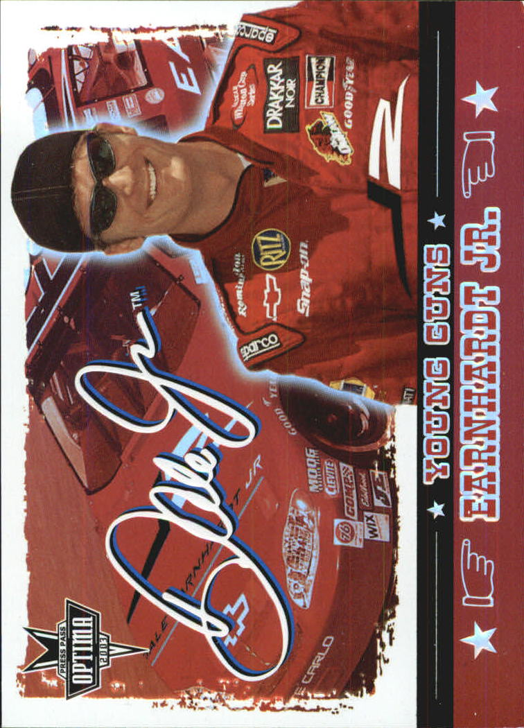 2003 Press Pass Optima Young Guns #YG1 Dale Earnhardt Jr.