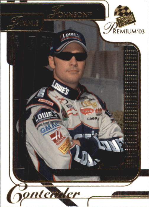2003 Press Pass Premium #13 Jimmie Johnson
