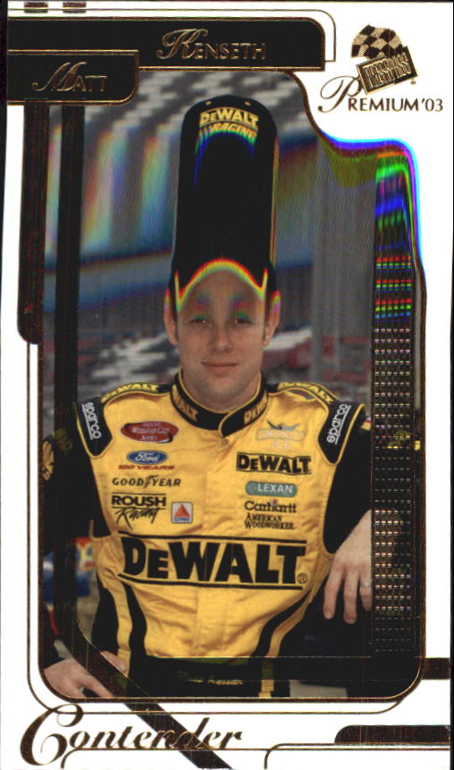 2003 Press Pass Premium #14 Matt Kenseth