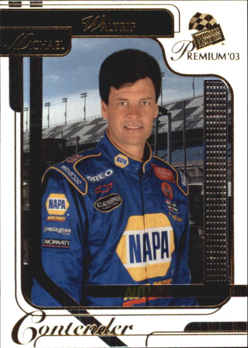 2003 Press Pass Premium #30 Michael Waltrip