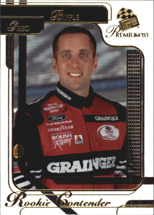 2003 Press Pass Premium #31 Greg Biffle CRC