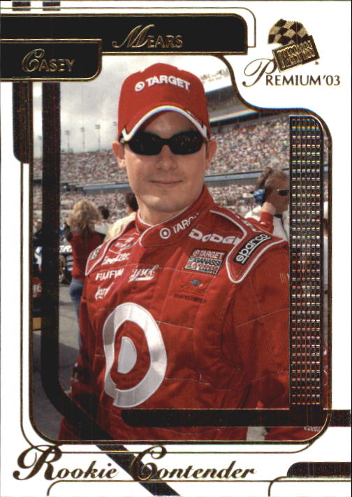 2003 Press Pass Premium #33 Casey Mears CRC
