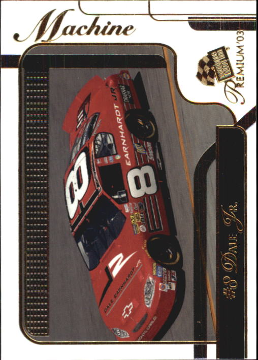 2003 Press Pass Premium #36 Dale Earnhardt Jr.'s Car