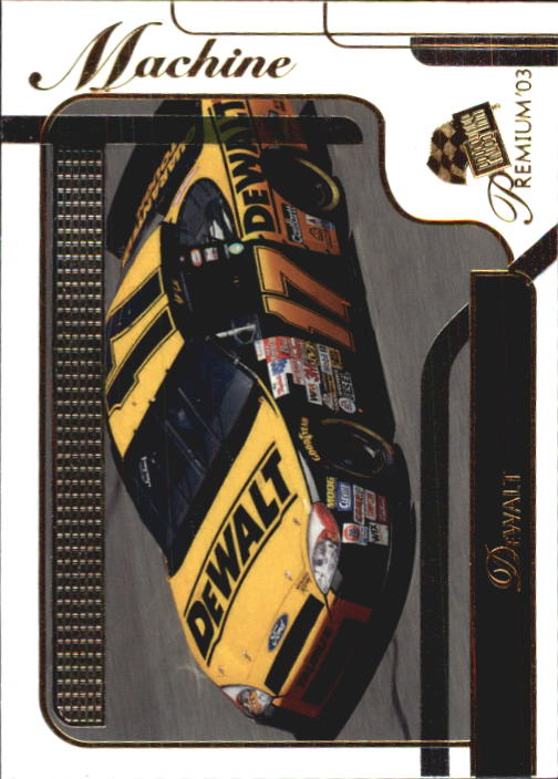 2003 Press Pass Premium #42 Matt Kenseth's Car