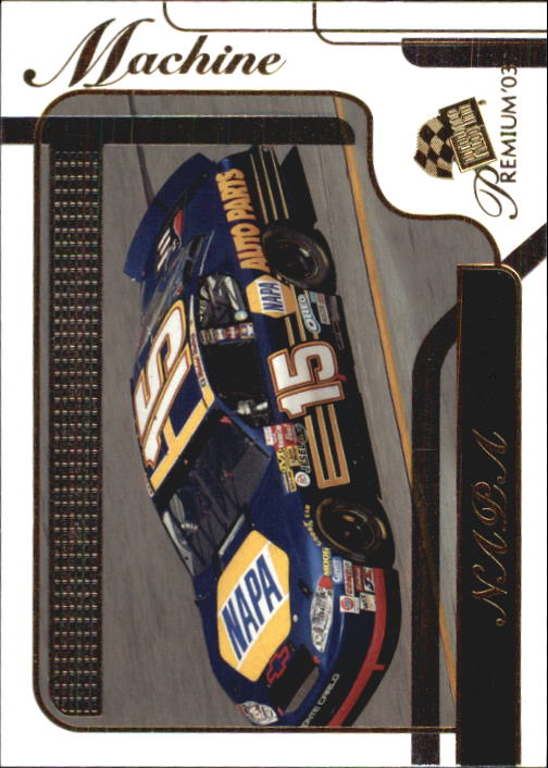 2003 Press Pass Premium #44 Michael Waltrip's Car