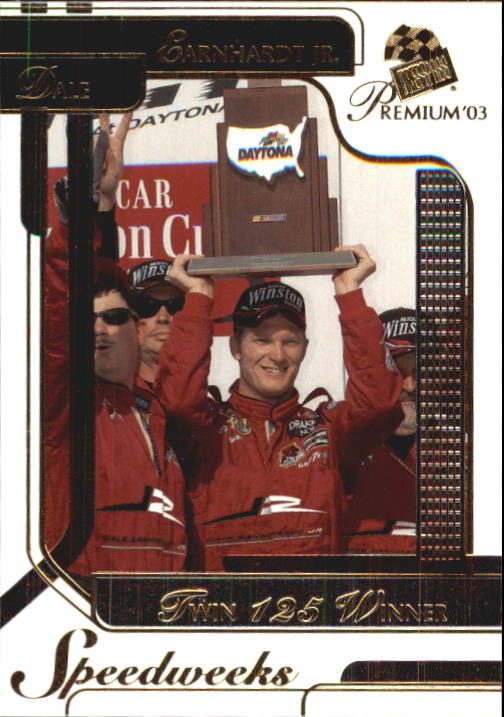 2003 Press Pass Premium #46 Dale Earnhardt Jr.