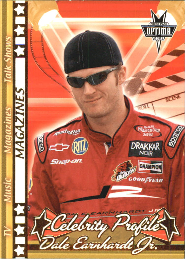 2003 Press Pass Optima Gold #G48 Dale Earnhardt Jr.
