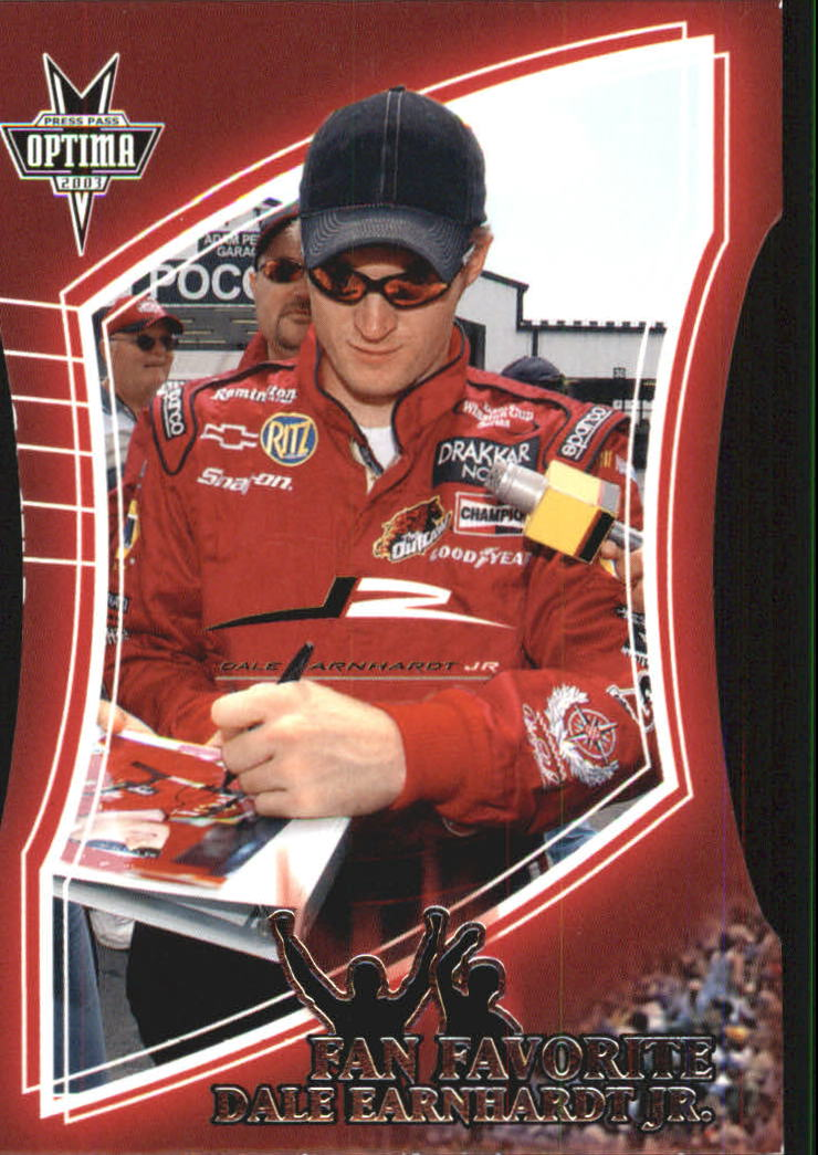 2003 Press Pass Optima Fan Favorite #FF6 Dale Earnhardt Jr.