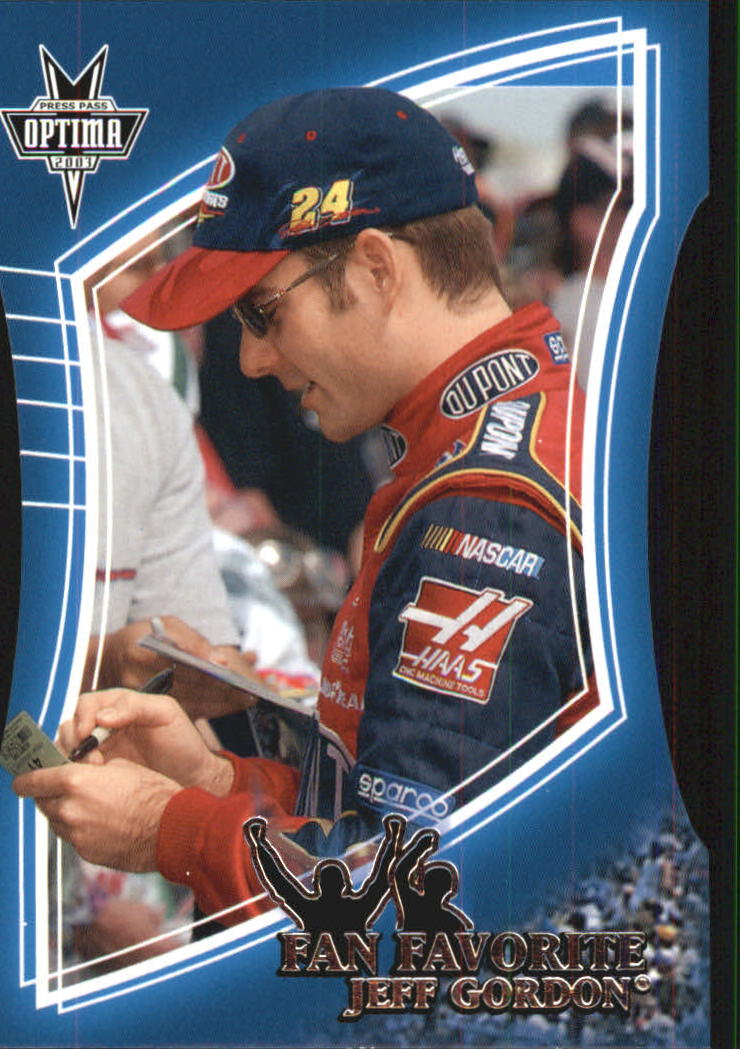 2003 Press Pass Optima Fan Favorite #FF7 Jeff Gordon