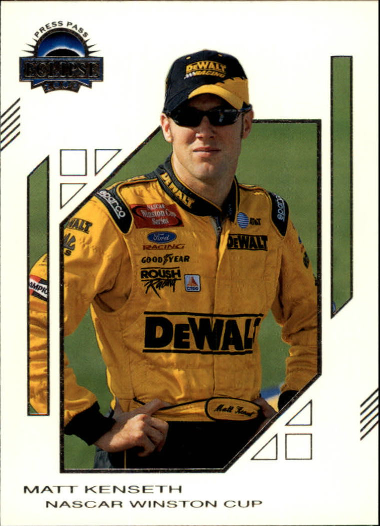 2003 Press Pass Eclipse #8 Matt Kenseth