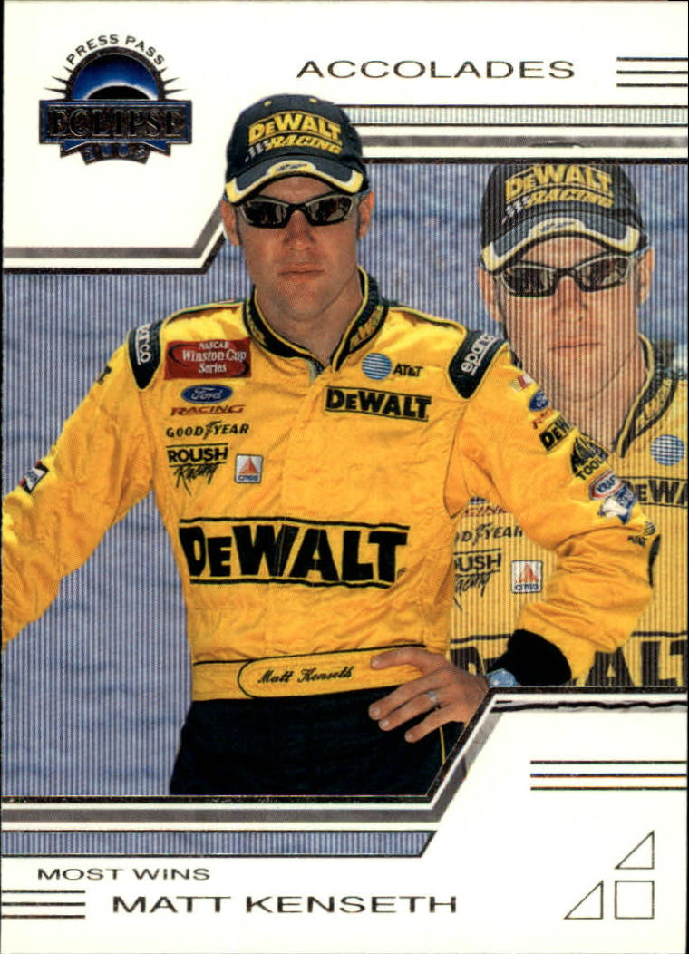 2003 Press Pass Eclipse #29 Matt Kenseth ACC