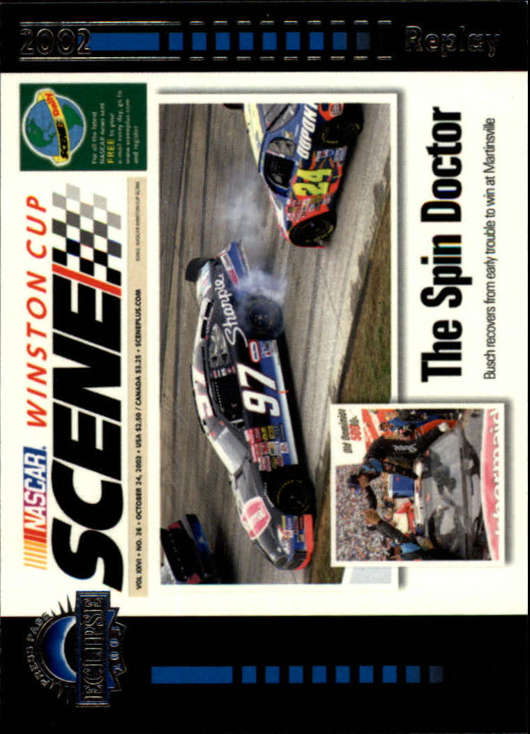 2003 Press Pass Eclipse #42 The Spin Doctor WCS