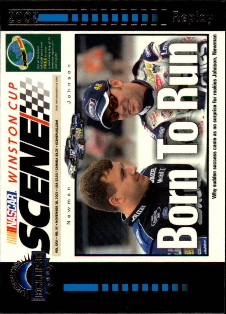 2003 Press Pass Eclipse #43 Born to Run WCS