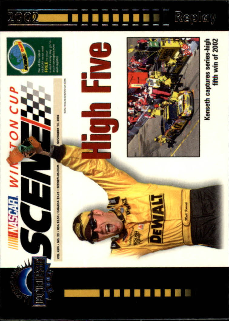 2003 Press Pass Eclipse #44 High Five WCS