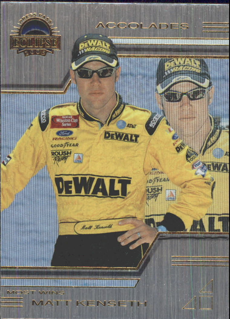 2003 Press Pass Eclipse Solar Eclipse #P29 Matt Kenseth  ACC