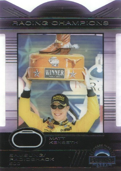 2003 Press Pass Eclipse Racing Champions #RC9 Matt Kenseth