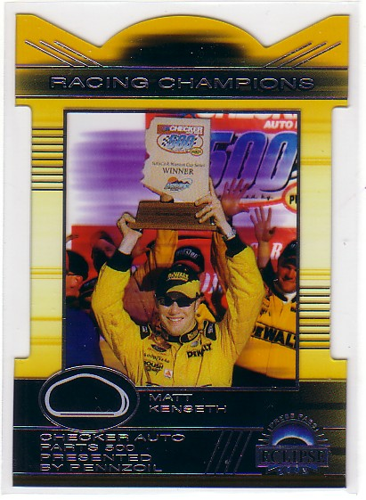 2003 Press Pass Eclipse Racing Champions #RC35 Matt Kenseth