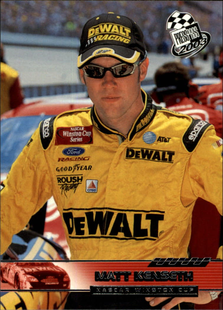 2003 Press Pass #17 Matt Kenseth
