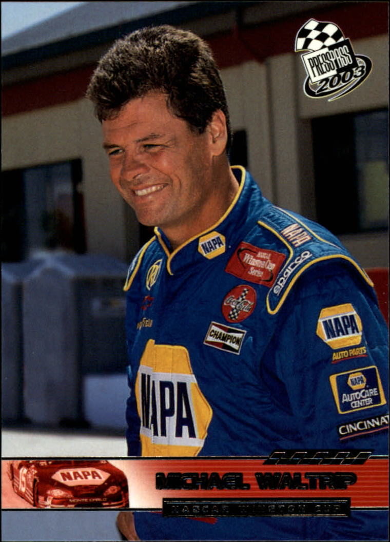 2003 Press Pass #33 Michael Waltrip