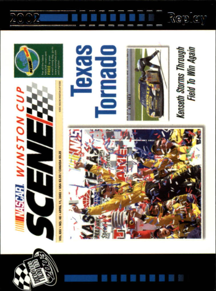 2003 Press Pass #76 Texas Tornado WCS