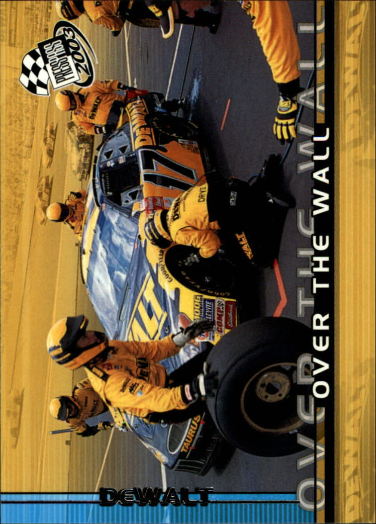 2003 Press Pass #95 Matt Kenseth's Car OTW