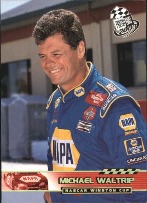 2003 Press Pass Gold Holofoil #P33 Michael Waltrip