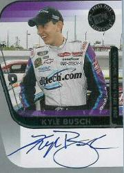 2004 Press Pass Signings #10 Kyle Busch O/P/S/T/V