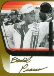 2004 Press Pass Signings Gold #46 David Pearson P/S/T/V