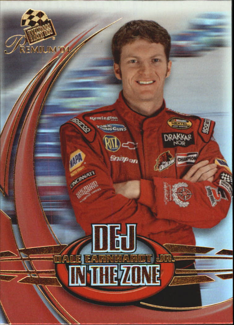 2004 Press Pass Premium In the Zone #IZ2 Dale Earnhardt Jr.