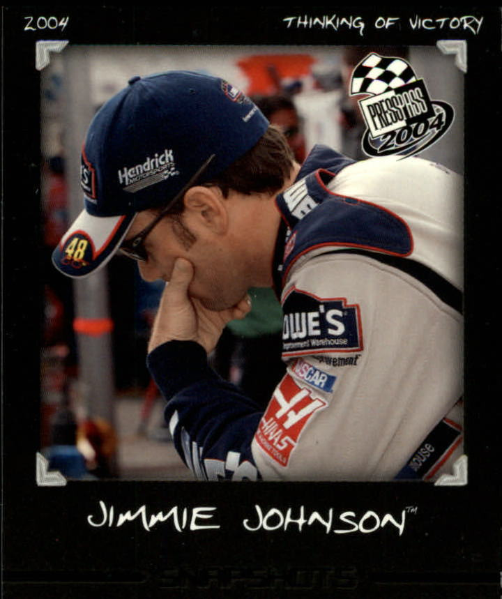2004 Press Pass Snapshots #SN11 Jimmie Johnson
