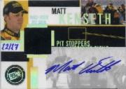 2004 Press Pass Trackside Pit Stoppers Autographs #PSMK Matt Kenseth/17