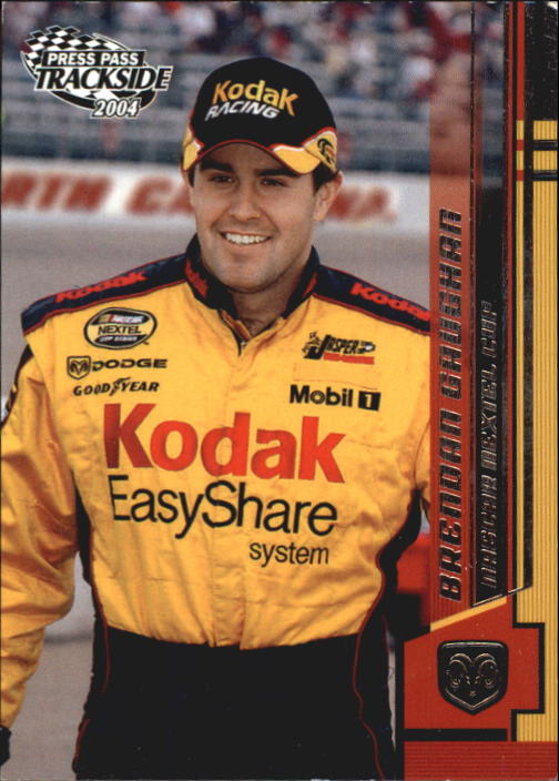 2004 Press Pass Trackside #1 Brendan Gaughan CRC