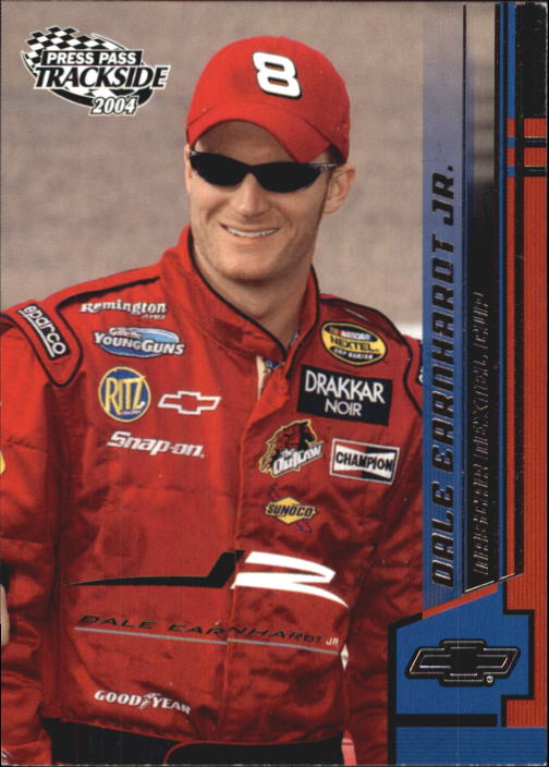2004 Press Pass Trackside #19 Dale Earnhardt Jr.