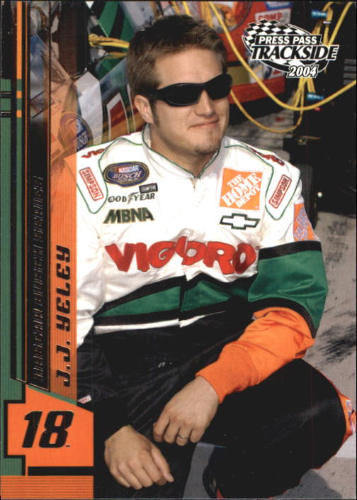 2004 Press Pass Trackside #36 J.J. Yeley RC