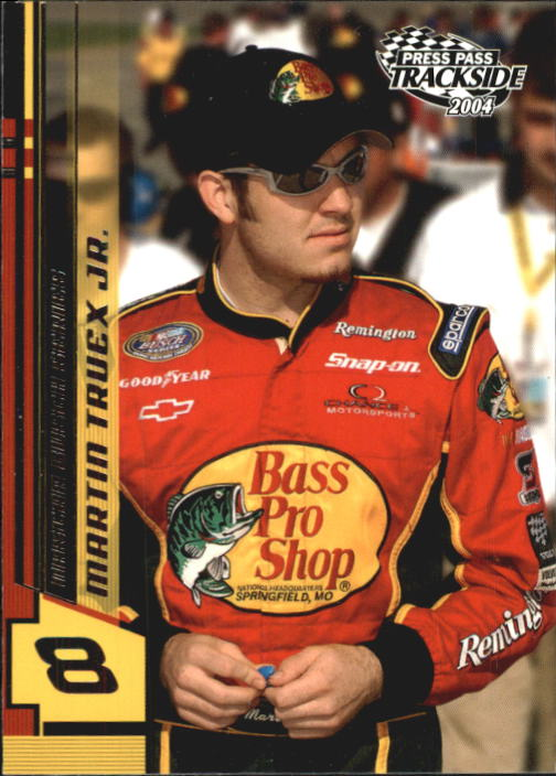 2004 Press Pass Trackside #39 Martin Truex Jr. RC
