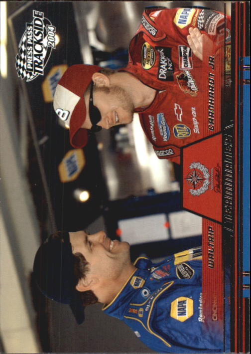 2004 Press Pass Trackside #72 Dale Jr./M.Waltrip TM