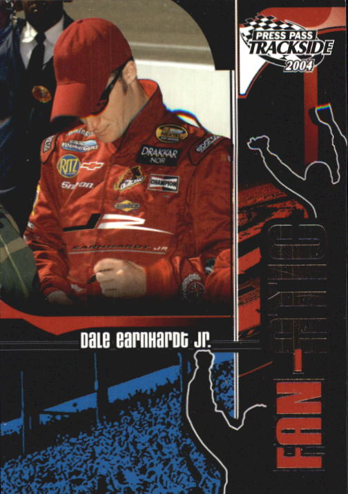 2004 Press Pass Trackside #109 Dale Earnhardt Jr. F