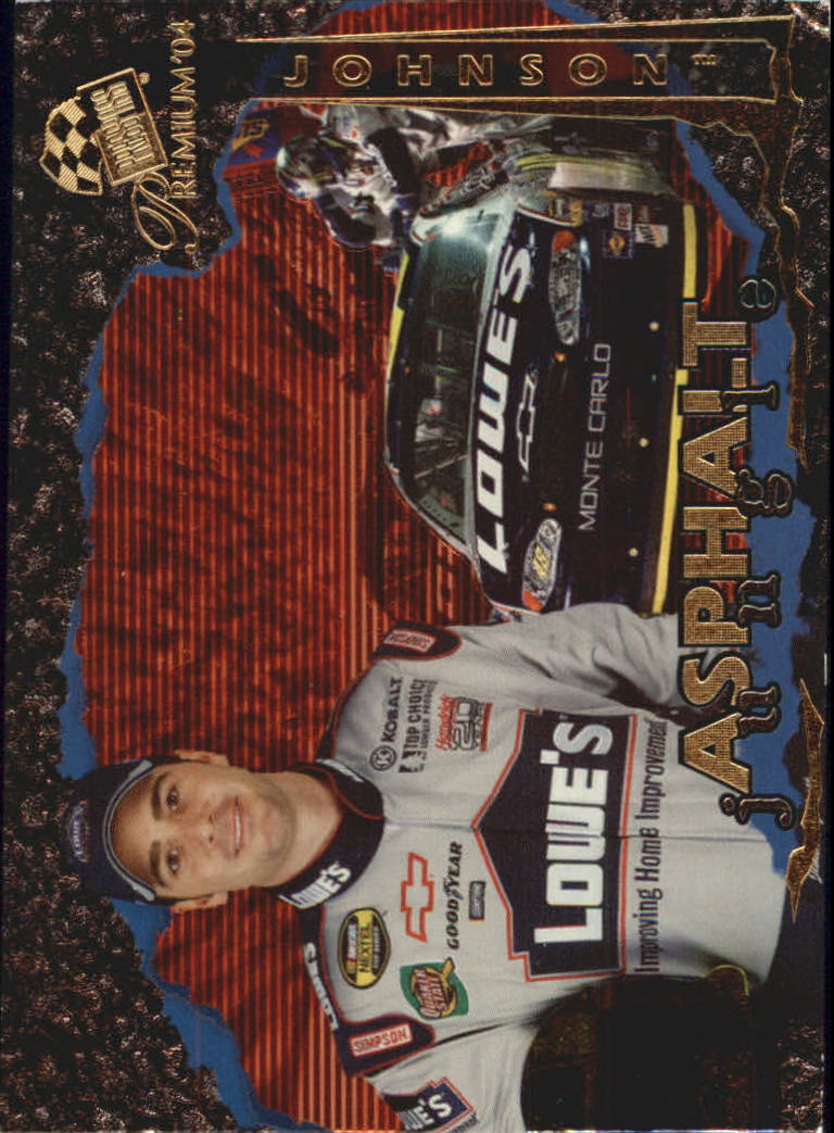 2004 Press Pass Premium Asphalt Jungle #A4 Jimmie Johnson