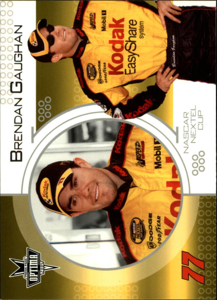 2004 Press Pass Optima #5 Brendan Gaughan CRC
