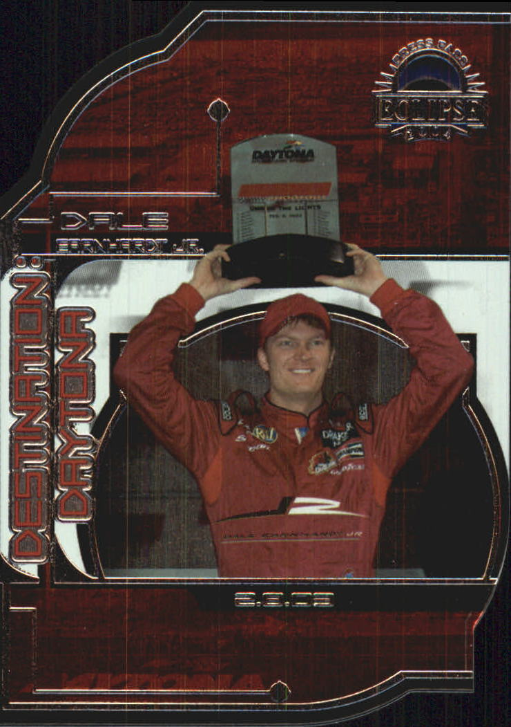 2004 Press Pass Eclipse Destination WIN #1 Dale Earnhardt Jr.
