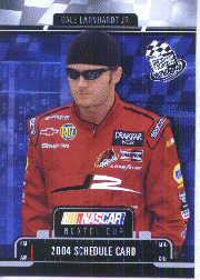2004 Press Pass Schedule #3 Dale Earnhardt Jr.