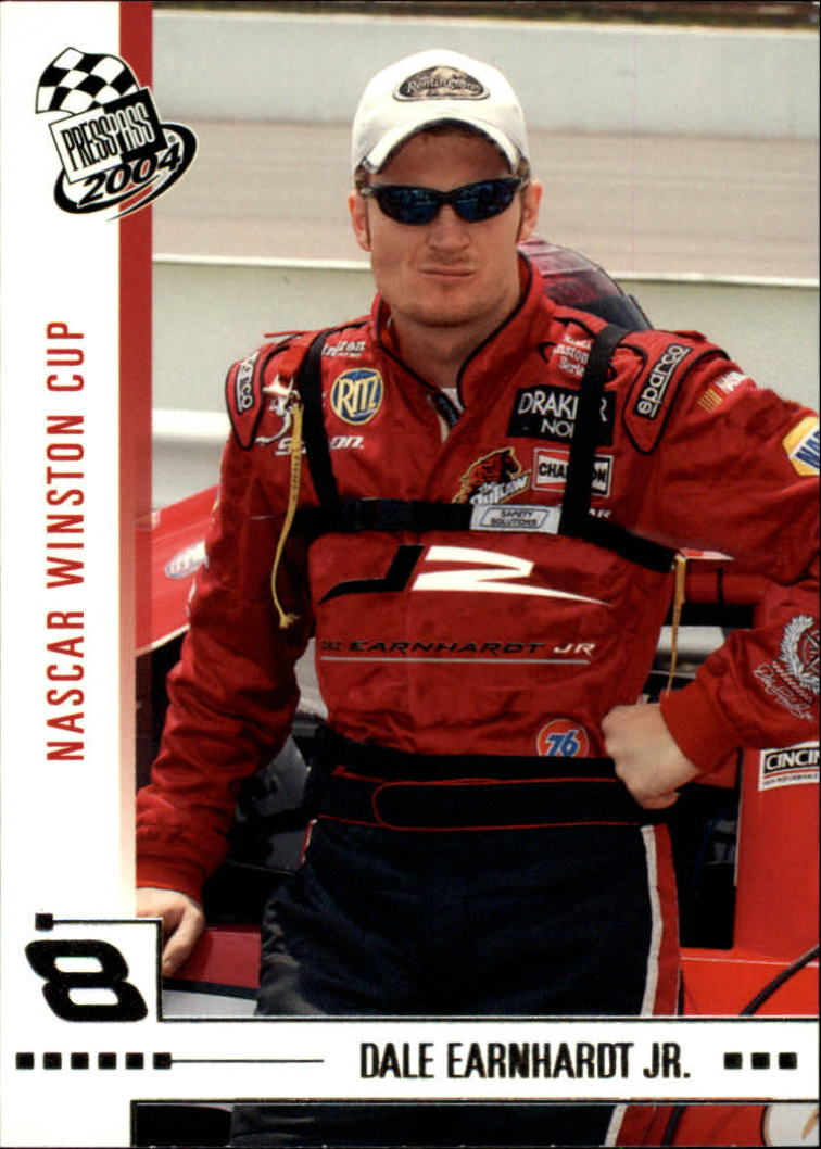 2004 Press Pass #9 Dale Earnhardt Jr.