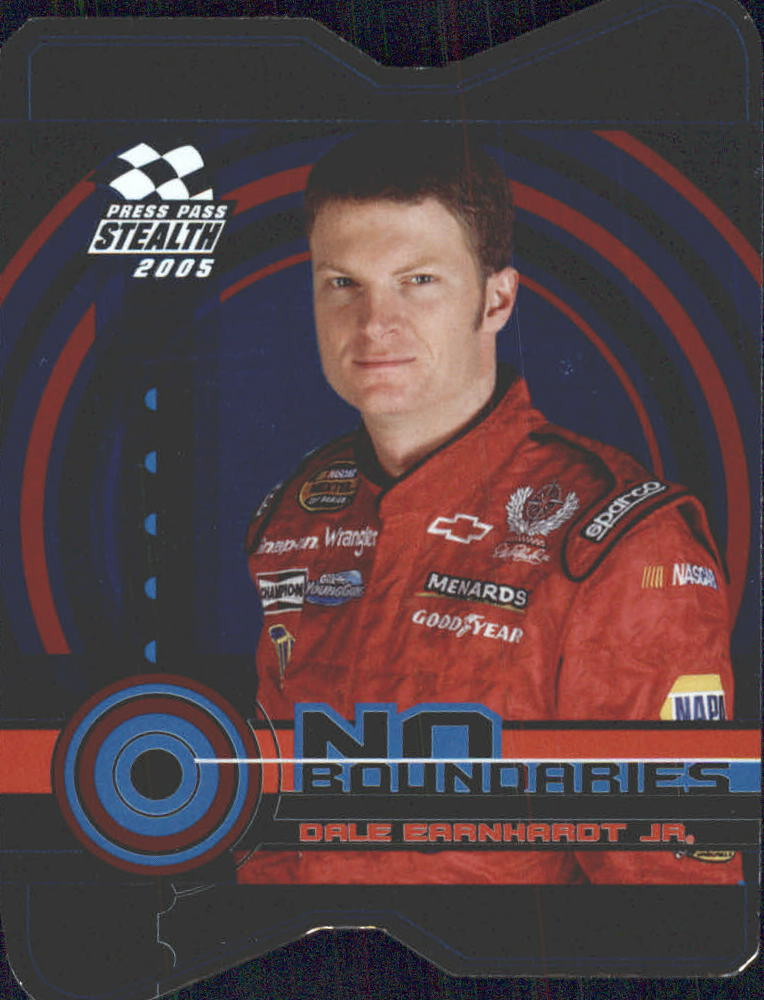2005 Press Pass Stealth No Boundaries #NB15 Dale Earnhardt Jr.