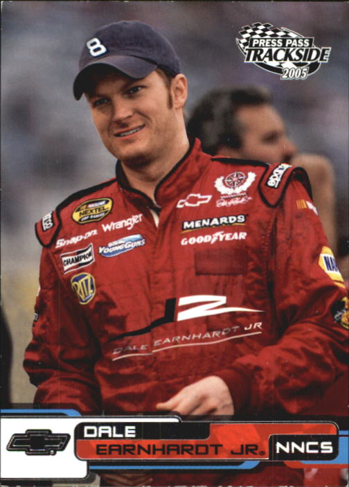 2005 Press Pass Trackside #2 Dale Earnhardt Jr.