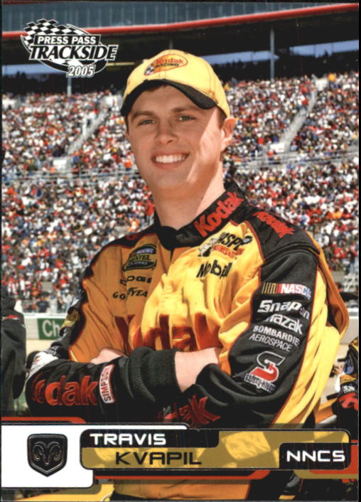 2005 Press Pass Trackside #15 Travis Kvapil CRC