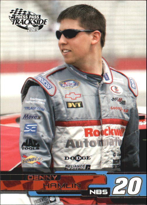 2005 Press Pass Trackside #37 Denny Hamlin RC
