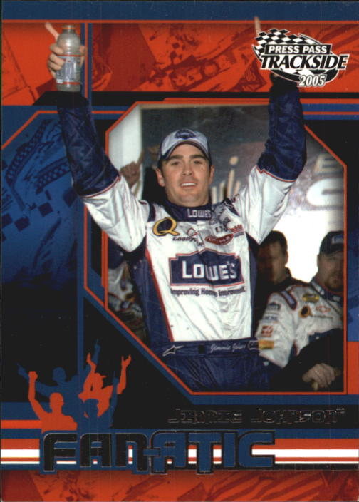 2005 Press Pass Trackside #96 Jimmie Johnson F